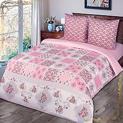Комплект постельного белья поплин Парижанка на резинке