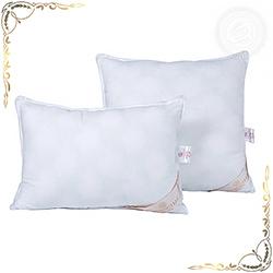 Подушка Велюр белая из хлопка с ворсом