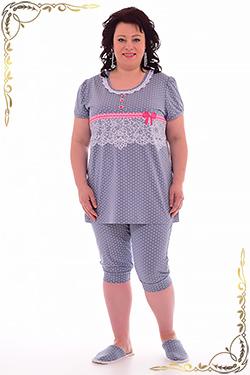 Пижама из хлопка 1-134 бриджи
