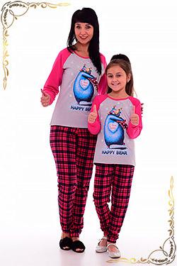 Пижама молодежная с оригинальным принтом 1-156