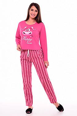 Пижама с укороченной кофтой 1-193