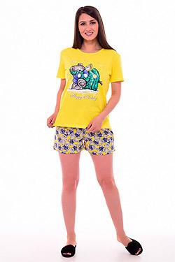 Пижама с шортами из хлопка 1-196