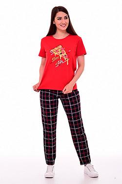 Пижама с брюками свободного покроя 1-205