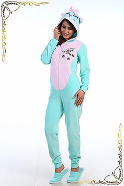 Женская велюровая пижама 1-36