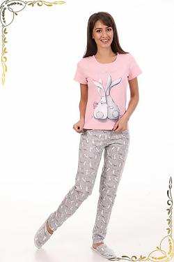 Пижама женская с брюками 1-88