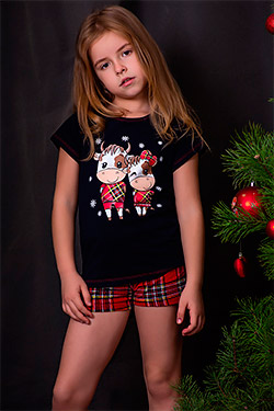Пижама на девочку с символом года 10824