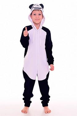 Пижама на мальчика кигуруми панда 11-036