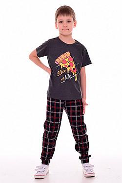 Пижама на мальчика с коротким рукавом 11-051
