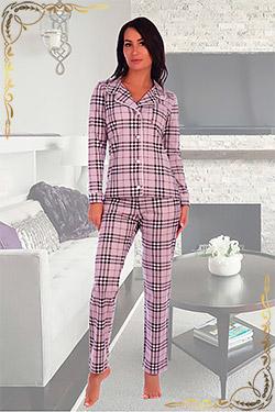 Пижама женская с брюками 2612