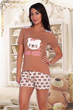 Пижама молодёжная с шортами 2775