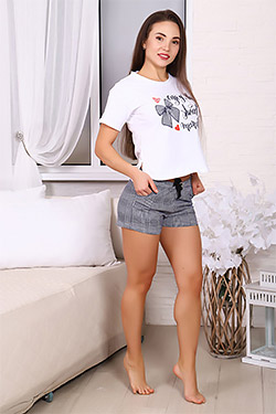 Пижама с шортами в клетку 30503