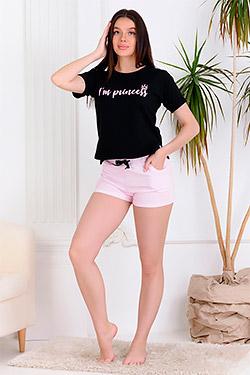 Пижама женская с шортами 30511