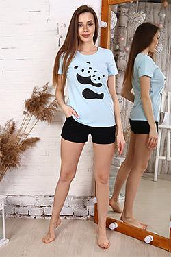 Пижама из хлопка повседневная 33504