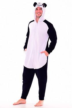Пижама мужская кигуруми панда 9-146
