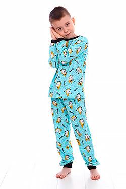 Пижама трикотажная на мальчика Чаплин
