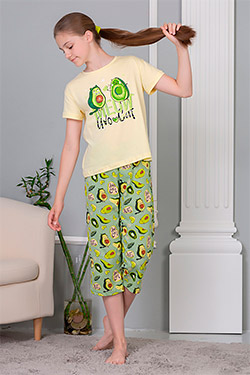 Пижама на девочку свободного покроя Эшли