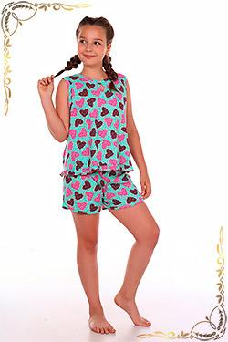 Пижама на девочку трикотажная Глазурь