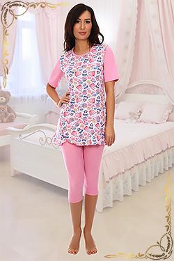 Пижама женская Прима бриджи