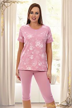 Пижама трикотажная с бриджами Тулуза