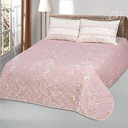 Покрывало поплин Сакура розовое