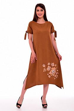 Платье женское удлинённое 1-34