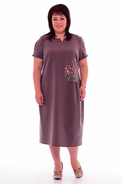 Платье женское повседневное 1-35