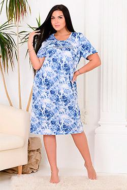 Платье летнее свободного покроя 11124