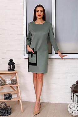 Платье 13616 распродажа, р.46