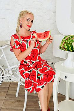 Платье летнее с рисунком арбузы 1457