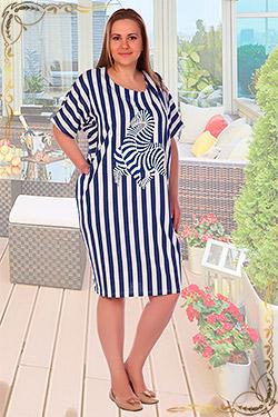 Платье женское больших размеров 2293