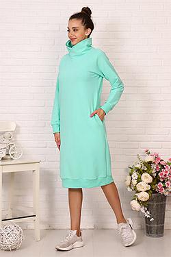 Платье спортивное с капюшоном 24227