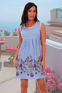 Платье летнее из хлопка 2521