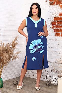 Платье летнее с разрезами 32009