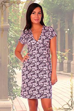 Платье молодёжное из вискозы 3328