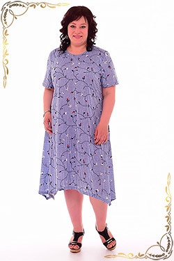 Платье летнее из хлопка 4-56