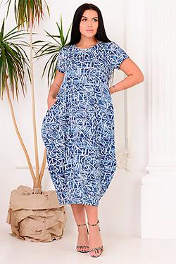 Платье летнее в стиле бохо 4438