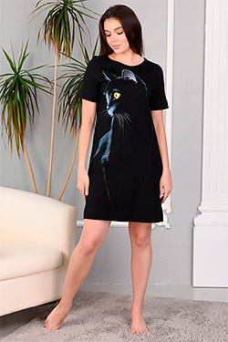 Платье трикотажное повседневное 5620