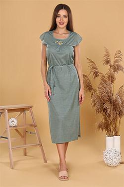 Платье женское летнее Агератум