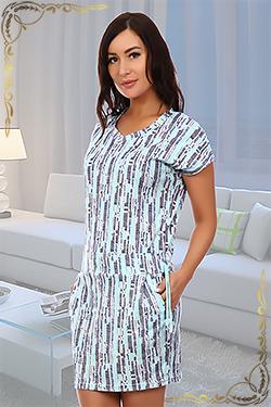 Трикотажное летнее платье Ариэль