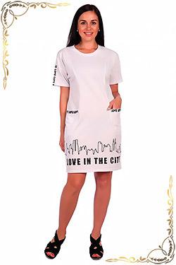Платье женское из льна Фестиваль