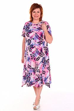 Платье летнее из трикотажа Луиза