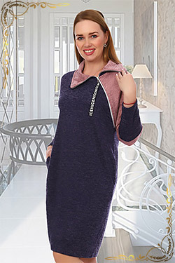 Платье туника из ангоры Прадо