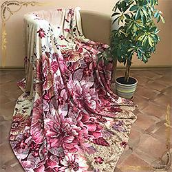 Плед корал-флис Фелиция 902 розовый