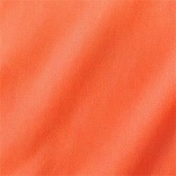 Простыня на резинке трикотаж Лососевый оранжевая