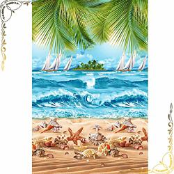 Вафельное полотенце Райский уголок 100Х150