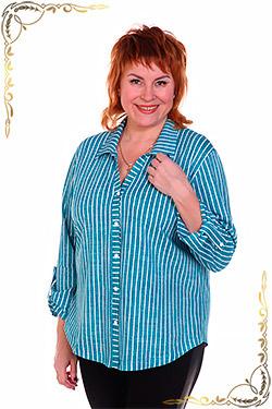 Рубашка женская на пуговицах Аргентина