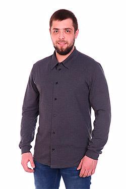 Рубашка мужская однотонная Роки