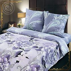 Комплект постельного белья поплин Шанель