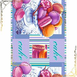Вафельное полотенце Сладкая жизнь 47Х70