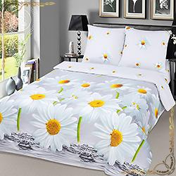 Комплект постельного белья поплин Снежана